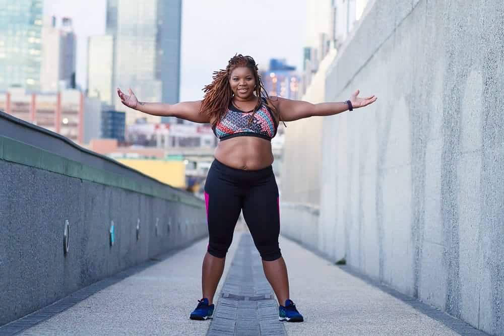 Women in fitness Latoya Shauntay